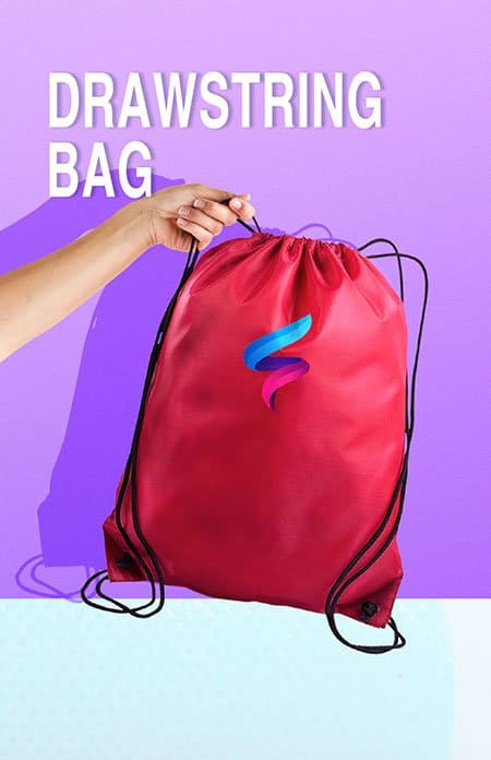 drawstring bag printing kl