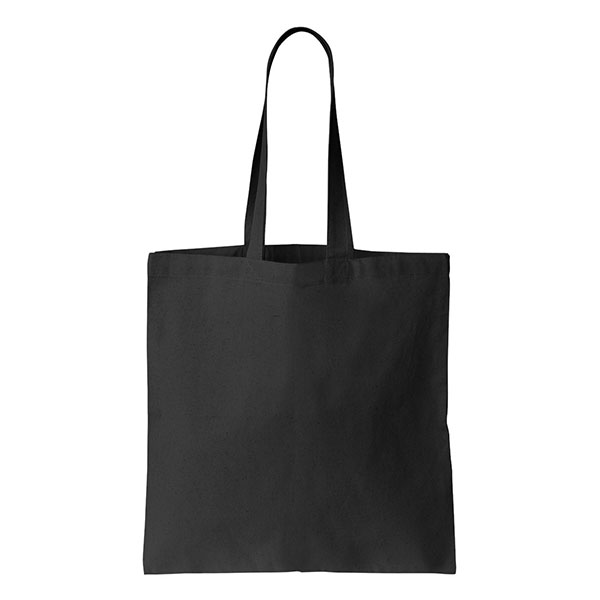 Canvas Black Stitch Bag