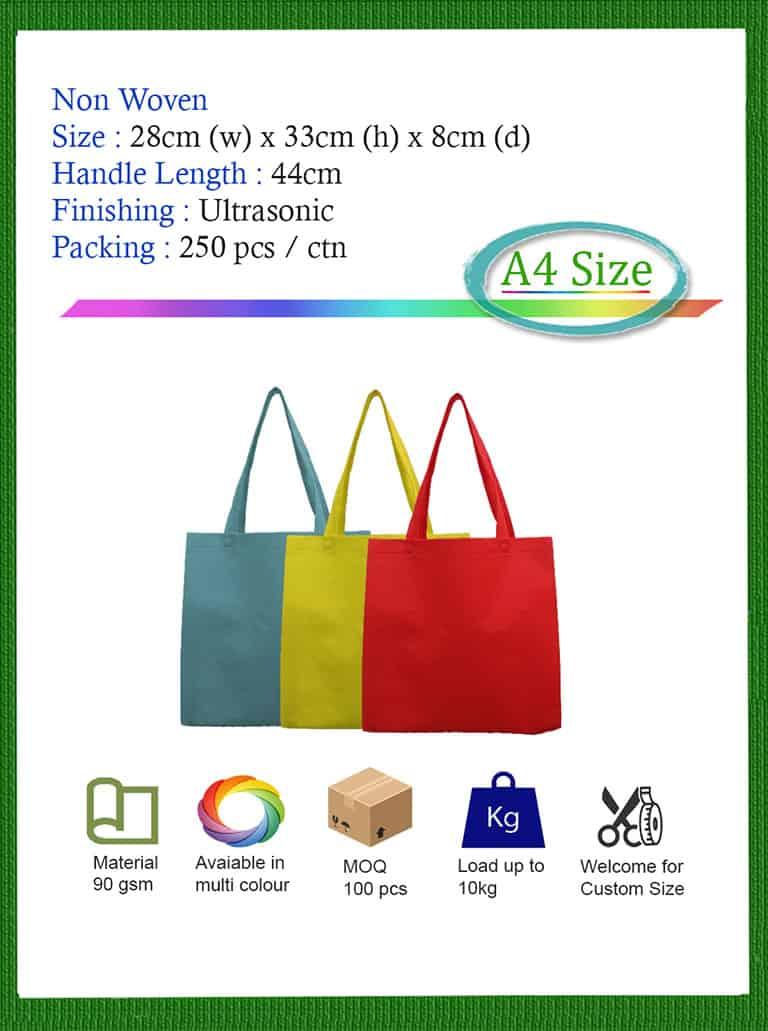 non woven A4 Bag