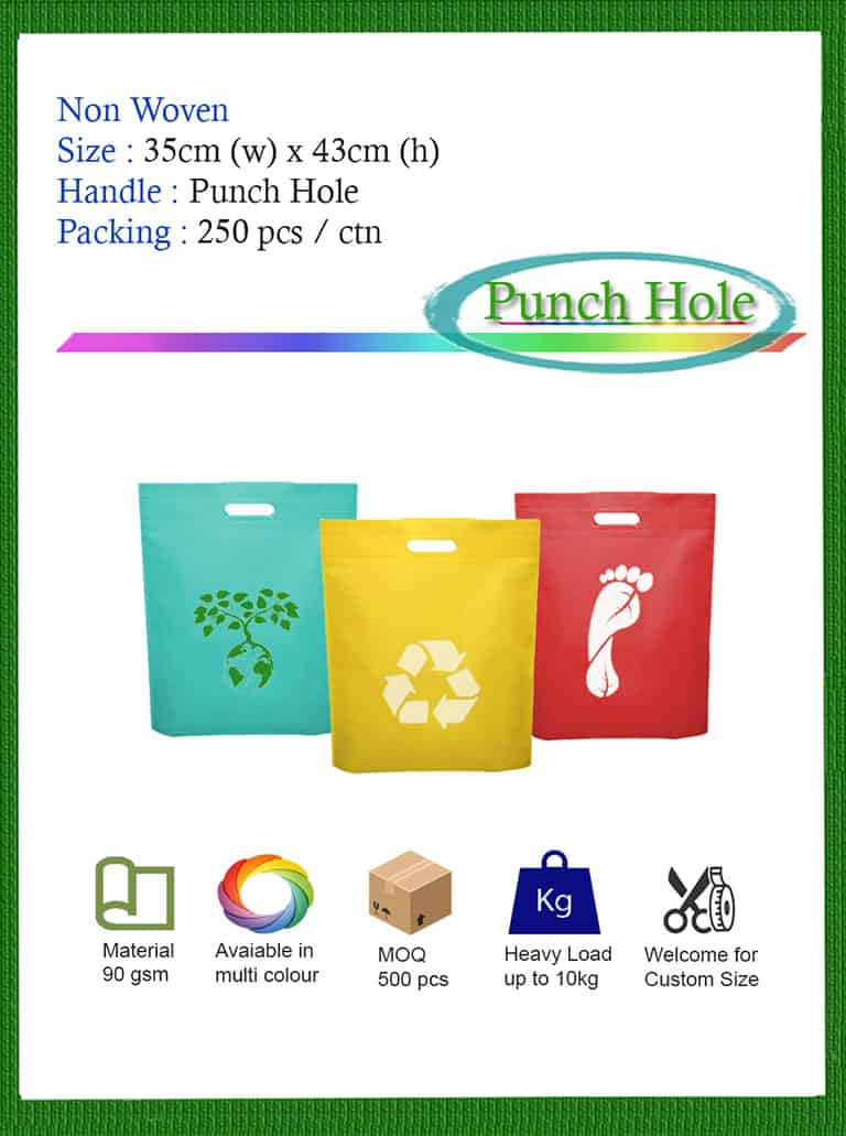 non woven punch hole