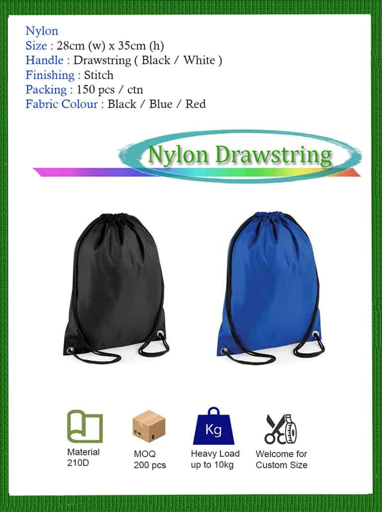 nylon bag printing in KL